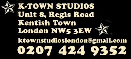 K-Town Studios Music Shop | Equipment Hire | Rehearsal Studios | Kentish Town, London