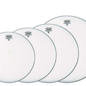 Assorted drum skins